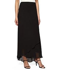 Plus Size Tulip-Hem Maxi Skirt