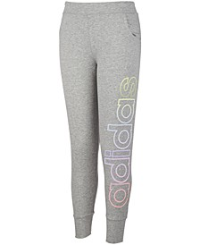 Big Girls Iridescent Logo Jogger Pants