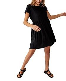 Tina Babydoll T-shirt Dress