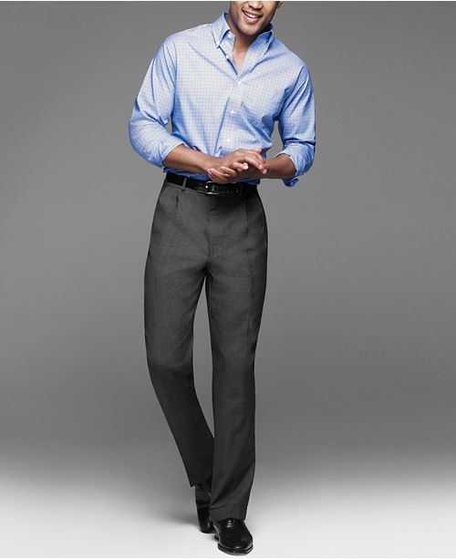 fe09841c70 Lauren Ralph Lauren 100% Wool Dress Pants   Reviews - Pants - Men ...