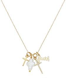Gotta Have Faith Interchangeable Charm Necklace