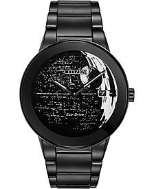 Citizen Eco-Drive Men's Star Wars Death Star Black Stainless Steel Bracelet Watch 40mm