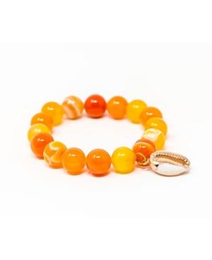 Cowrie Shell Gemstone Bracelet