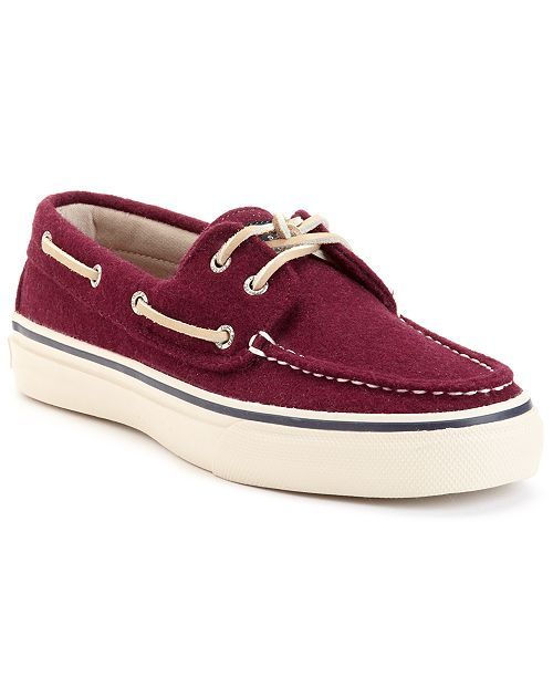 fda54ef0670964 Sperry Bahama 2-Eye Wool Boat Shoes   Reviews - All Men s Shoes ...