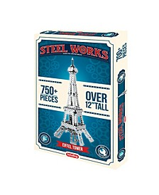 Steel Works Eiffel tower Construction Set