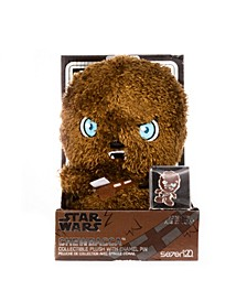 "Star Wars Medium Heroez 7"" Plush Pin Set Chewbacca"