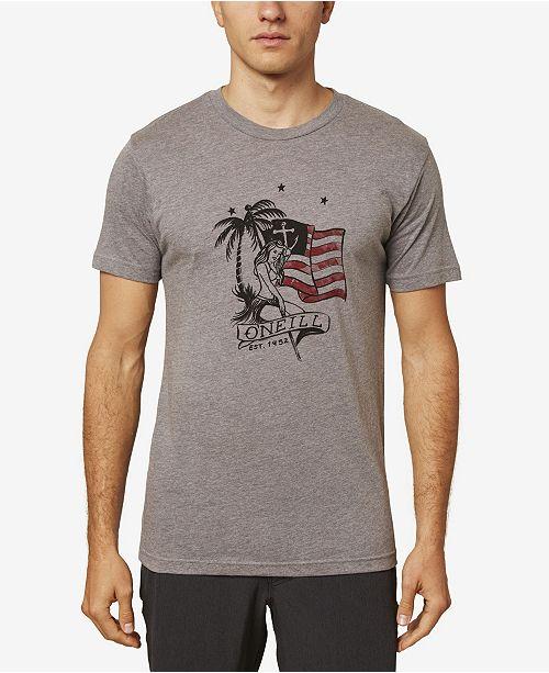 O'Neill Mens USA T-Shirt