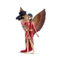 Schleich, Bayala, Nuray with Raven Munyn Toy Figurine Playset