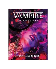 Vampire- The Masquerade Storyteller Screen Vampire 5Th 4 Panel with Adv.