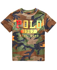 Toddler Boys Camouflage Logo T-Shirt