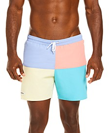Men's Casual Taffeta Swim Trunks