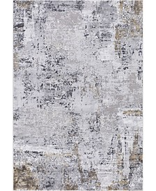 "Hamilton HAM-5 Gray/ Gold 10'3"" x 14' Area Rug"