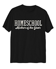 Women's Homeschool Mother of The Year T-shirt