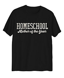 Love Tribe Women's Homeschool Mother of The Year T-shirt