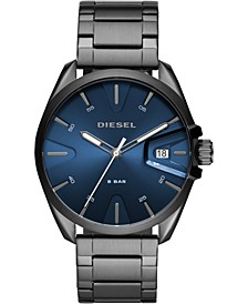 Men's MS9 Gunmetal Stainless Steel Bracelet Watch 44mm