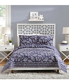 French Paisley Full/Queen Quilt