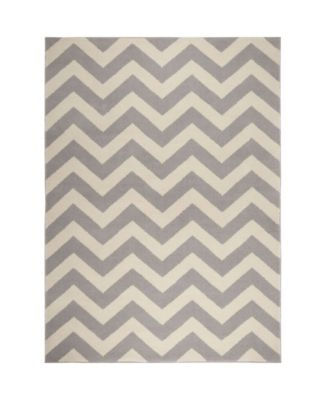 """Haven Hav05 Gray and Ivory 5'3"""" x 7'2"""" Area Rug"""
