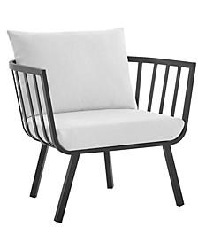 Riverside Outdoor Patio Aluminum Armchair