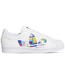 Men's Superstar Pride Casual Sneakers from Finish Line