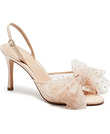 Women's Bridal Sparkle Evening Dress Heels