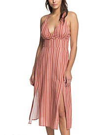 Young Goddess Striped Dress