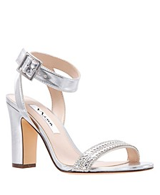 Sharon Block Heel Sandal