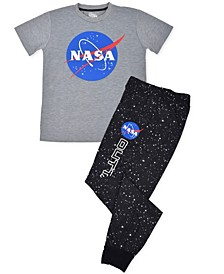 Big Boys NASA Pajama Set