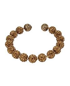 New York Caviar Beaded Coil Bracelet