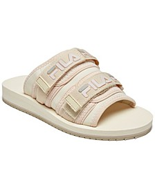 Women's Utility Slide Sandals from Finish Line