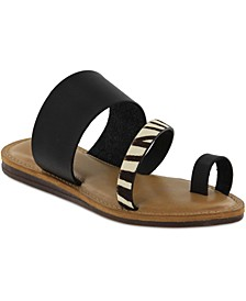 Becki Toe-Ring Flat Sandals