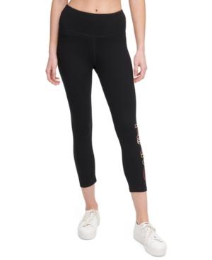 Calvin Klein Performance Logo High-waist Cropped Leggings