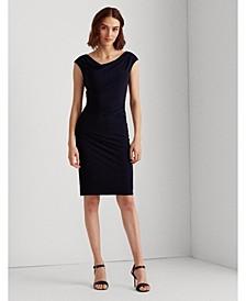 Jersey Cowlneck Dress