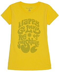 Juniors' Happy Go Lucky T-Shirt