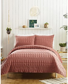 Kahelo 3-Piece Full/Queen Quilt Set