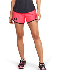 Women's Fly By Mesh-Trimmed Shorts