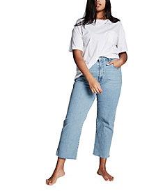 COTTON ON Curve Millie Straight Leg Jeans