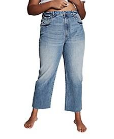 Trendy Plus Size Millie Straight Leg Jeans