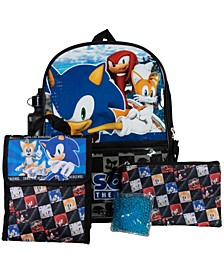 Sonic Backpack, 5 Piece Set