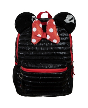 Bioworld Minnie Mouse Quilted Backpack