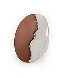 Two-Tone Oval Ring