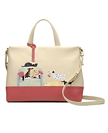 Radley & Friends Sunday Snooze Ziptop Multiway Satchel