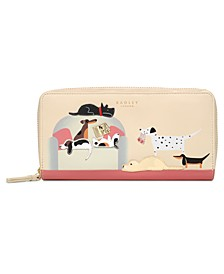 Radley & Friends Sunday Snooze Zip Around Matinee Wallet