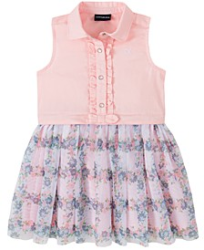 Baby Girls Vest-Top Dress