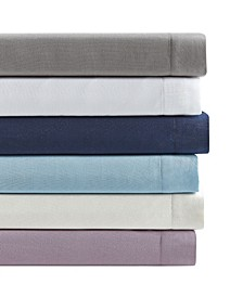 Sander Home Fashion 3 Piece Twin XL Size Solid Microfiber Sheet Set