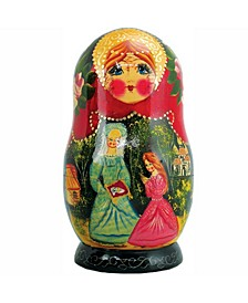 5 Piece Cinderella Russian Matryoshka Nested Doll Set