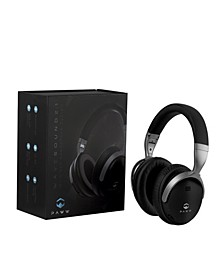 WaveSound 2.1 Premium Bluetooth Over-Ear Headphones with AptX Low Latency