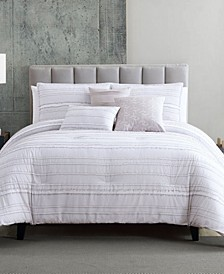 Boston 6 Piece Queen Comforter Set