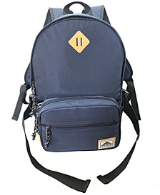 Athletic Nylon Dome Backpack
