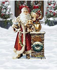 by Dona Gelsinger Silent Night Santa Outdoor Decor