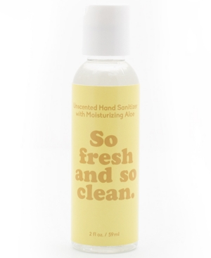 Paddywax So Fresh & So Clean Unscented Hand Sanitizer, 2-oz.